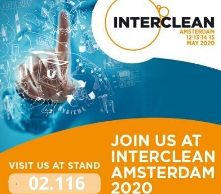 Cimel attends the Interclean Exhibition in Amsterdam 12-15 May